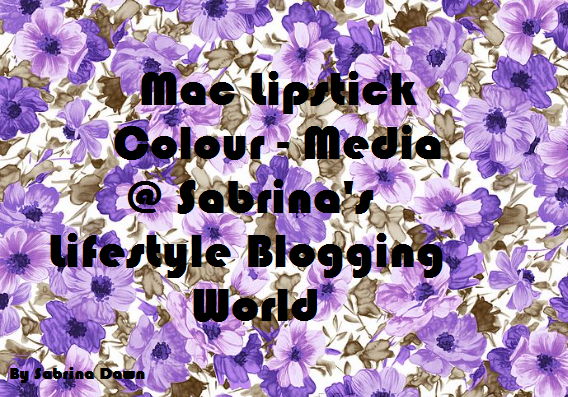 Review: Mac Lipstick Media