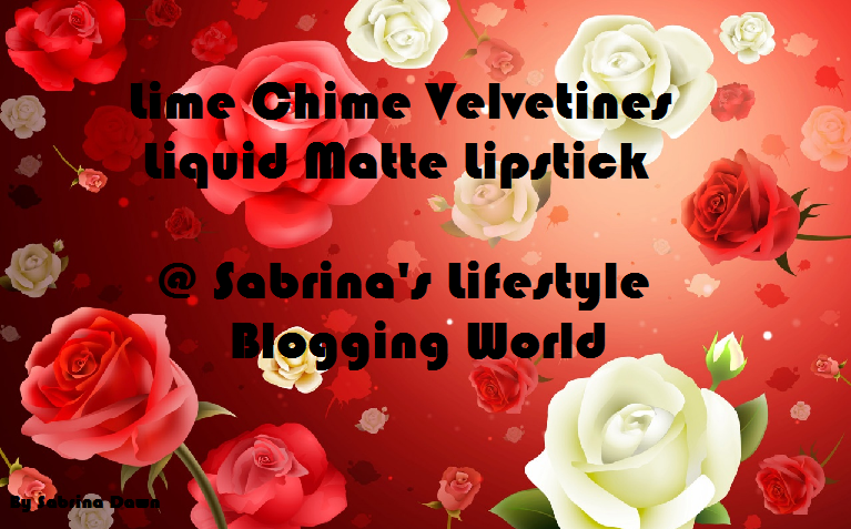 Review on Lime Chime Velvetines Long Wear Liquid Lipstick