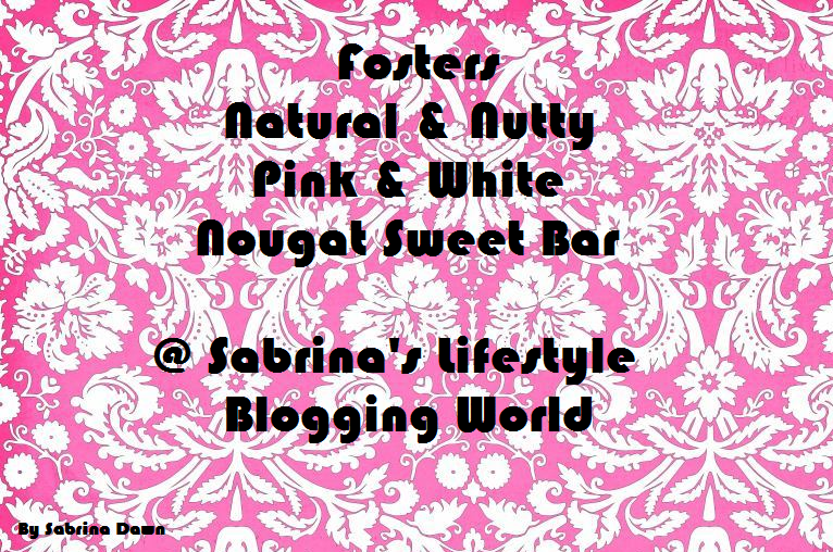 Review: Fosters Natural & Nutty Pink & White Nougat Sweet Bar